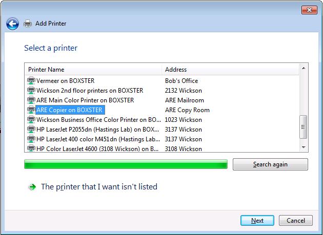 How do I add a network printer? – Environmental Science